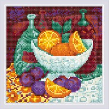 Diamond Mosaic Oranges - RIOLIS