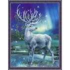 Borduurpakket Wit hert - White Stag