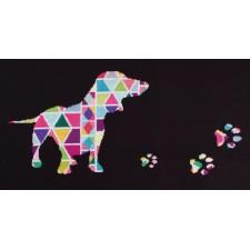 Borduurpakket Gestyleerde hond - This Long Story