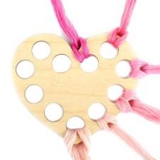 Garenhouder multiplex hart