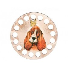 Garenhouder hond multiplex