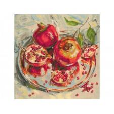 Borduurpakket Sterappels - Crowned Fruits