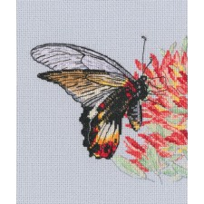 Cross stitch kit Nectar for Butterfly