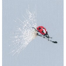 Cross stitch kit On the Dandelion's Parachute