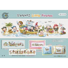 Borduurpatroon Little Pirates