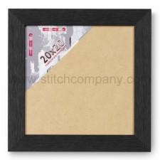 Wissellijst hout 20 x 20 cm, zwart