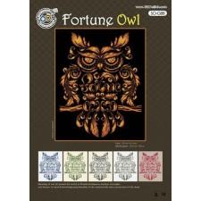 Borduurpakket Geluksuil - Fortune Owl