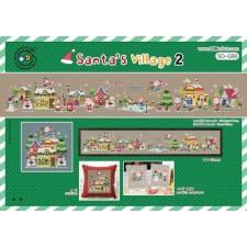 Borduurpakket Santa's Village 2