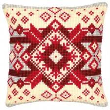 Cross stitch cushion kit Nordic star
