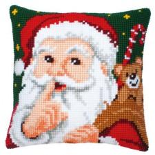 Cross stitch cushion kit Hush!