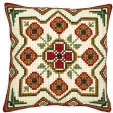 Cross stitch cushion kit Geometrical