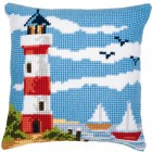 Cross stitch cushion kit Seascape