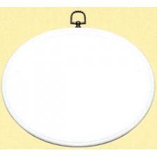 Plastic frame white 25x20 cm (p.1pc.)