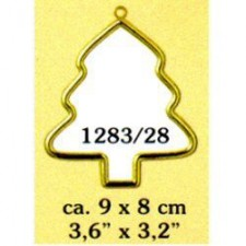 Plastic frame gold tree (p.1pc.)