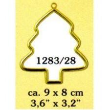 Plastic frame gold tree (p.1pc.)