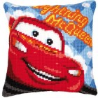 Cross stitch cushion kit Disney Lightning McQueen