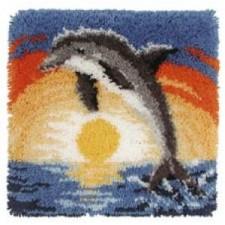 Knoopkussen dolfijn