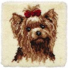 Knoopkussen hond