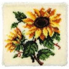 Knoopkussen zonnebloemen