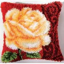 Knoopkussen roos