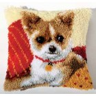 Latch hook cushion kit Chihuahua