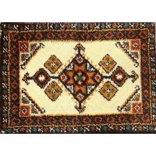 Latch hook rug kit Inca geometry