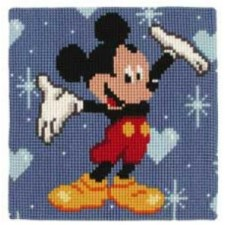 Cross stitch cushion kit Disney Mickey Mouse
