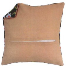 Cushion back with zipper - beige