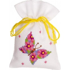 Bag kit Pink butterfly