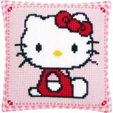 Cross stitch cushion kit Hello Kitty
