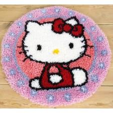 Knooptapijt Hello Kitty