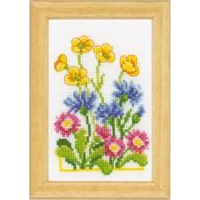 (OP=OP) Miniature kit Cornflowers