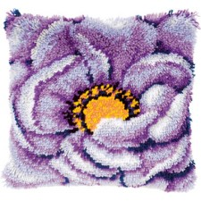 Knoopkussen paarse bloem