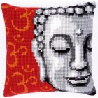 Cross stitch cushion kit Buddha