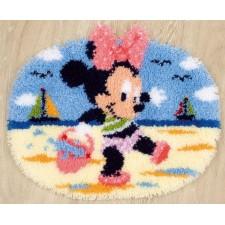 (OP=OP) Knoopkleed Minnie Mouse aan het strand