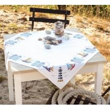 Aida tablecloth kit On the seaside