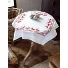 (OP=OP) Tablecloth Red Reindeers