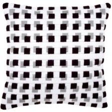 (OP=OP) Long stitch cushion kit Chessboard
