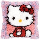 Latch hook cushion kit Hello Kitty
