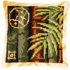 (OP=OP) Cross stitch cushion kit Bamboo II