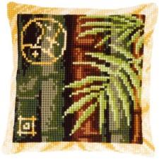 (OP=OP) Cross stitch cushion kit Bamboo II