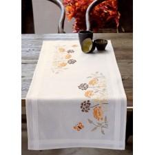 (OP=OP) Table runner kit Orange grasses and butterflies