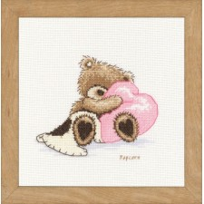 Counted cross stitch kit Popcorn Dreaming