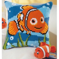 Cross stitch cushion kit Disney Nemo