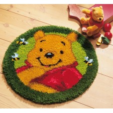 Latch hook shaped rug kit Disney Winnie the Pooh