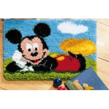 Latch hook rug kit Disney Mickey Mouse