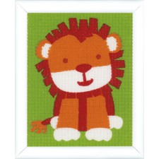 Canvas kit Cute lion