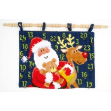 (OP=OP) Cross stitch wall hanging kit Christmas presents