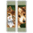 Bookmark kit Cat and dog set of 2