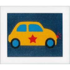 (OP=OP) Canvas kit Yellow car